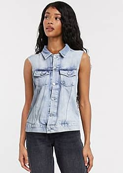 Pepe Jeans Pepe Maria denim jacket in blue