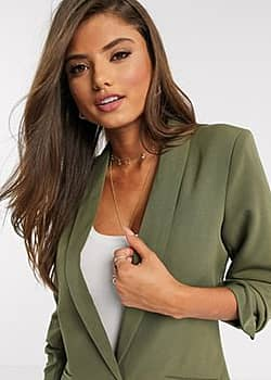 Vila blazer in green