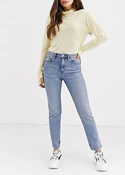 Weekday Seattle mom jeans-Blue