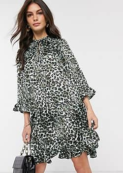 Y.A.S animal print smock dress-Multi