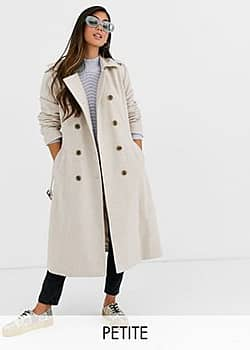 Y.A.S double breasted military coat-Cream