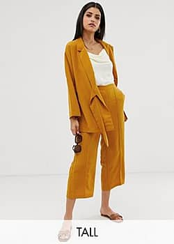 Y.A.S mustard culottes-Yellow