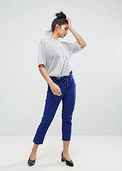 Ziztar Happy And Unhappy Trousers-Blue